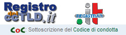 Accreditato Registrar dal Registro del ccTLD.it